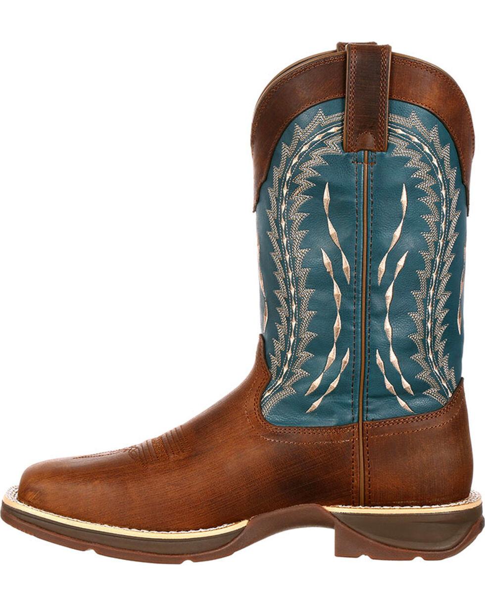 Durango Rebel Men's Brown Pull-On Western Boots - Square Toe, , hi-res