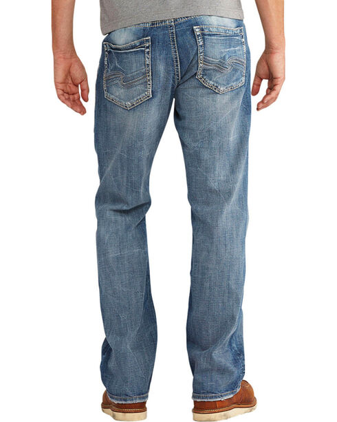 Silver Men's Craig Easy Fit Jeans - Boot Cut , Indigo, hi-res