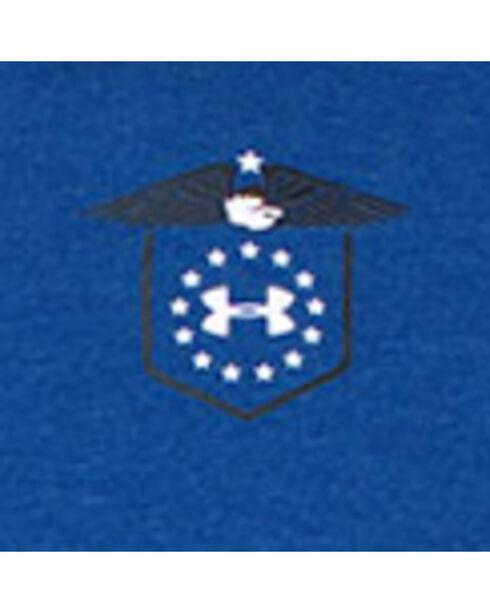Under Armour Men's Blue Home Of The Brave Shirt , Blue, hi-res