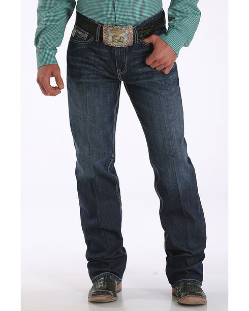 Cinch Men's Grant Performance Denim Relaxed Fit Jeans - Boot Cut, , hi-res