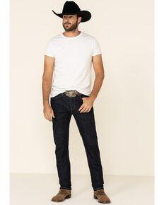 Levi's Men's 502 Dark Hollow Rinse Tapered Stretch Regular Straight Leg Jeans , , hi-res