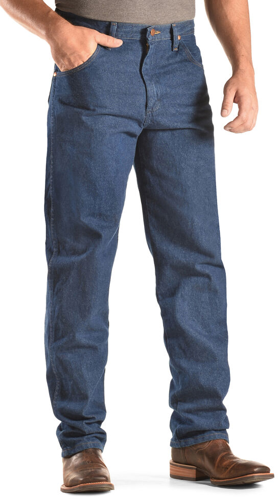 Wrangler 31MWZ Cowboy Cut Relaxed Fit Prewashed Jeans , Indigo, hi-res