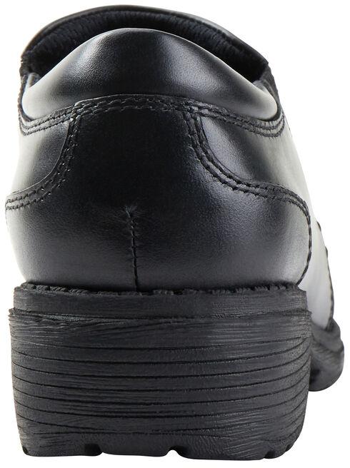 Eastland Women's Black Double Down Slip-Ons , Black, hi-res