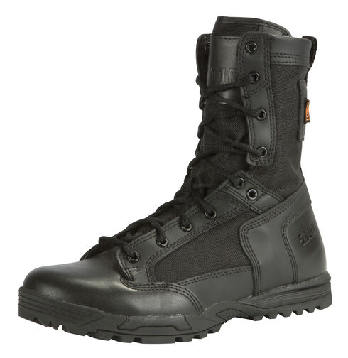 5.11 Tactical Men's Skyweight Side-Zip Leather Boots, Black, hi-res