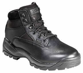 "5.11 Tactical Men's A.T.A.C. 6"" Boots, Black, hi-res"