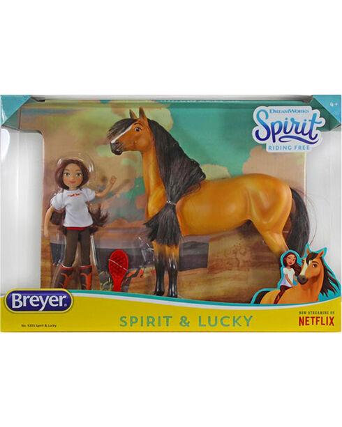 Breyer Spirit & Lucky Gift Set , No Color, hi-res
