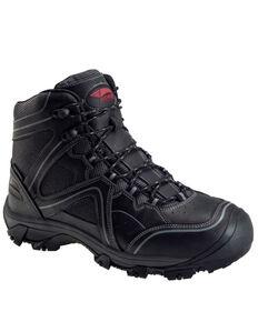 Avenger Men's Crosscut Waterproof Work Boots - Steel Toe, Black, hi-res