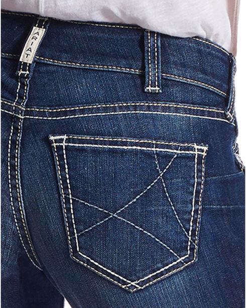 Ariat Women's Ella R.E.A.L. Riding Jeans, Blue, hi-res
