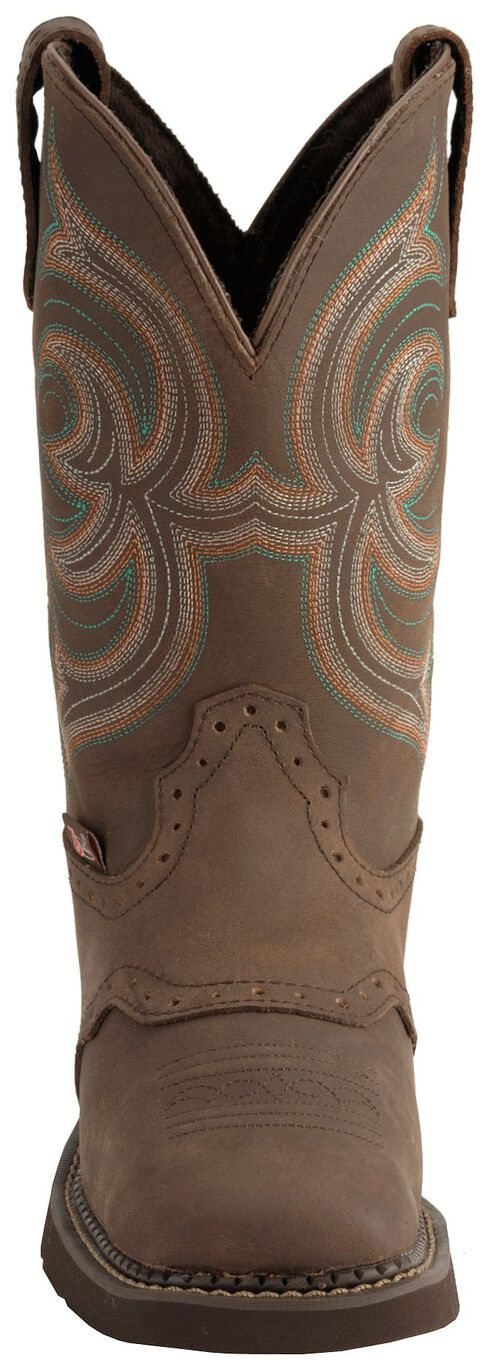 Justin Gypsy Cowgirl Boots - Square Toe, Bark, hi-res