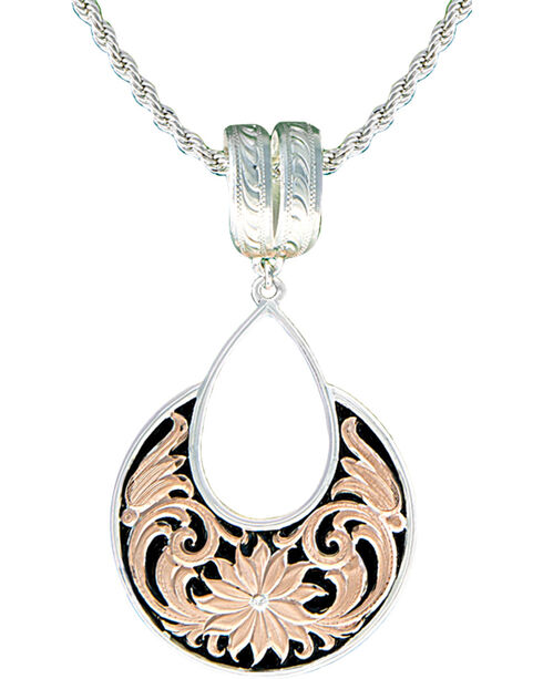 Montana Silversmiths Rose Gold Bitter Root Garden Necklace, Multi, hi-res