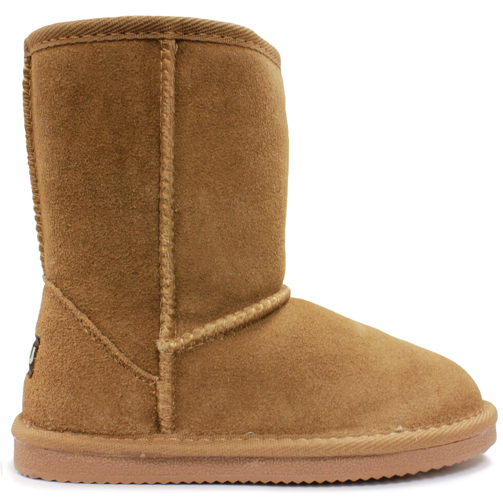 Lamo Footwear Kid's Classic Boots - Round Toe, Chestnut, hi-res