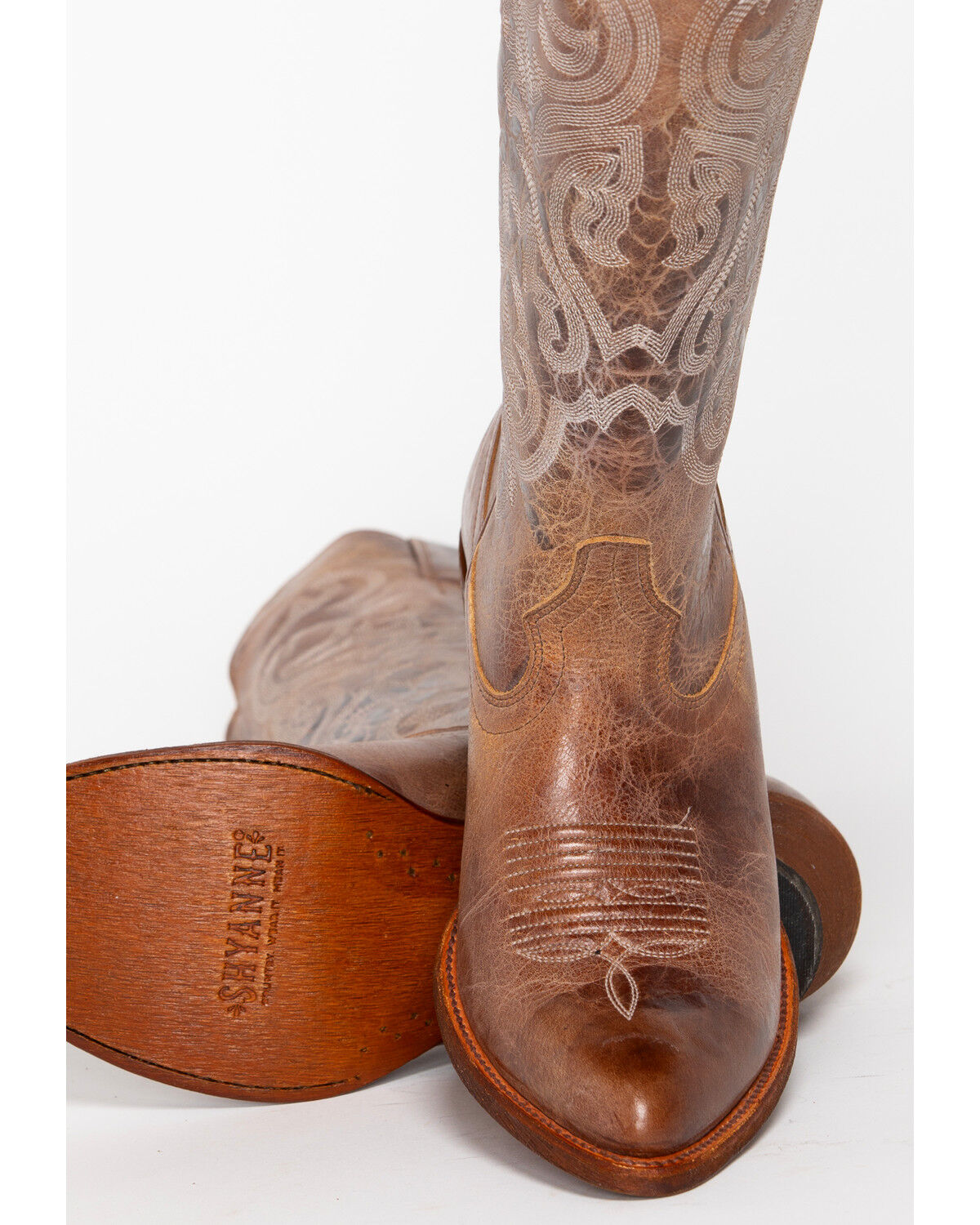 Tall Western Boots - Pointed Toe