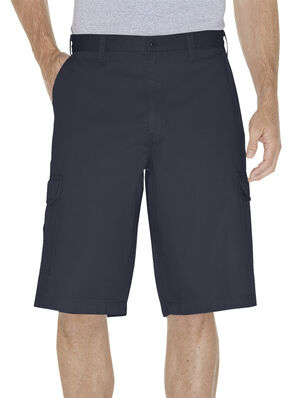 "Dickies Loose Fit 13"" Cargo Shorts - Big and Tall, Navy, hi-res"