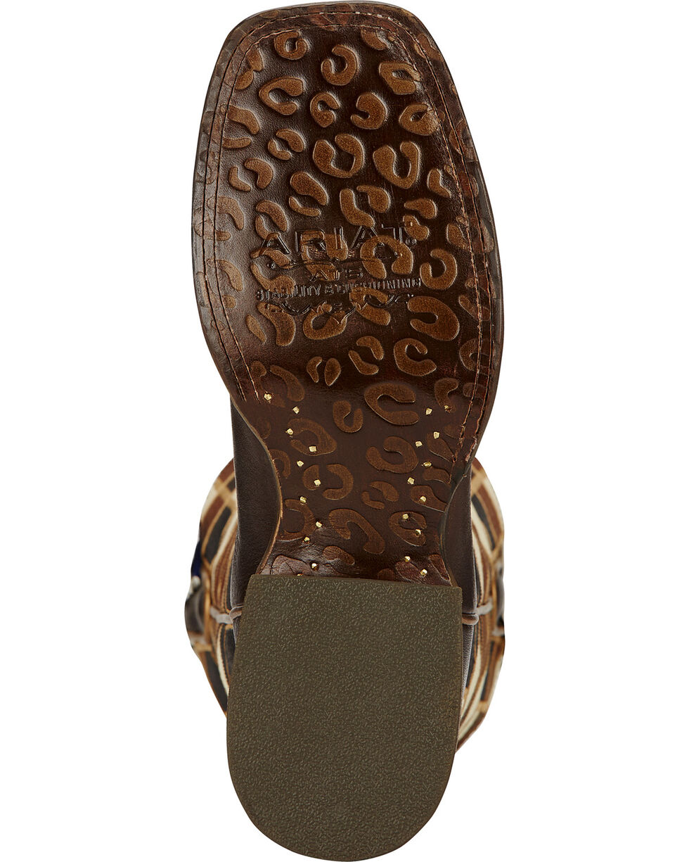 Ariat Mirada Bittersweet Chocolate Cowgirl Boots - Square Toe, Chocolate, hi-res