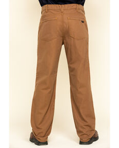 Hawx Men's Brown FR Denim Straight Work Jeans , Brown, hi-res
