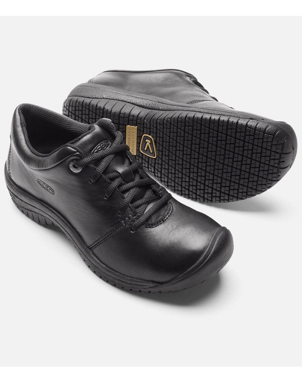 PTC Oxford Work Shoes - Round Toe