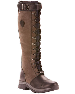 Ariat Women's Brown Berwick GTX Insulated Boots - Round Toe, Black, hi-res