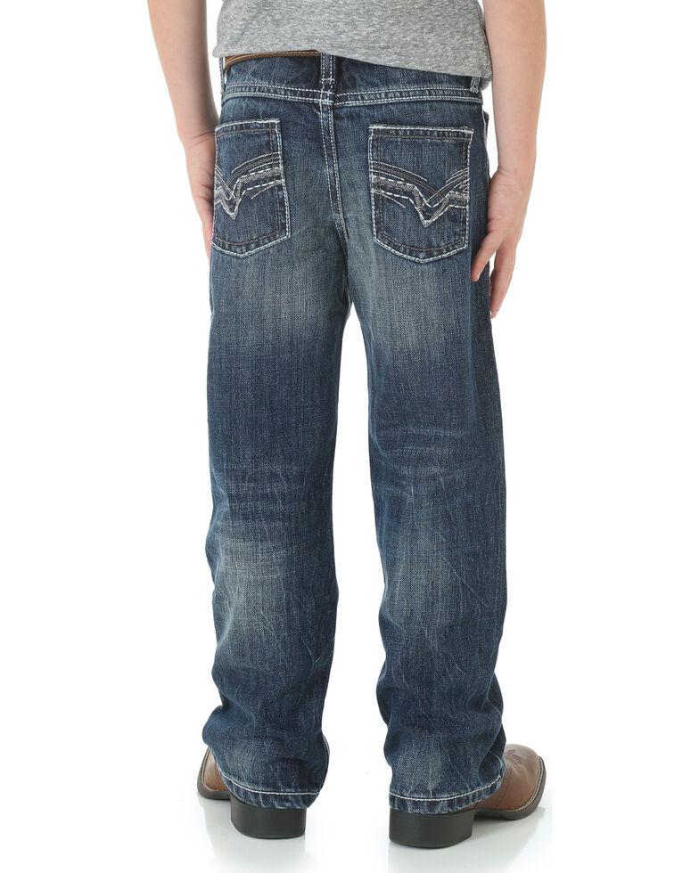 Wrangler 20X Boys' 42 Vintage Bootcut Jeans - 4-7, Denim, hi-res