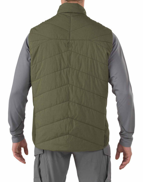 5.11 Tactical Men's Insulator Vest, Green, hi-res