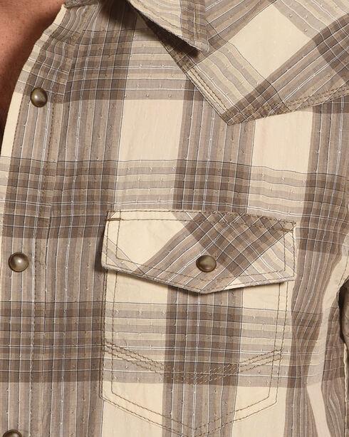 Cody James Men's Shackleford Brown Plaid Shirt, Brown, hi-res