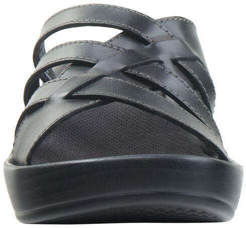 Eastland Women's Black Poppy Wedge Sandals, Black, hi-res