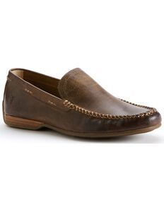 Frye Men's Lewis Venetian Shoes, Tan, hi-res