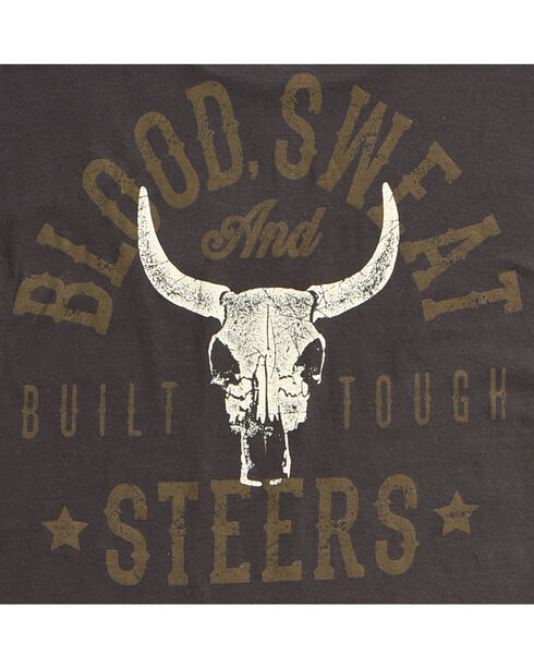 Cody James Men's Blood, Sweat and Steers Short Sleeve T-Shirt, Black, hi-res