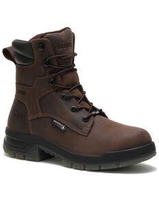 Wolverine Men's Ramparts Work Boots - Composite Toe, Dark Brown, hi-res