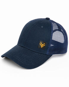 Hawx Men's Small Corner Logo Patch Cap , Navy, hi-res