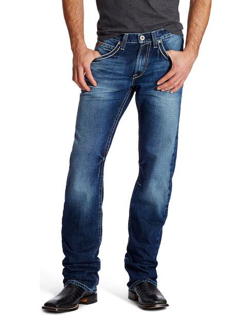 Ariat Men's Indigo M5 Ryker Bay Low Rise Slim Jeans - Straight Leg , Indigo, hi-res