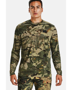 Under Armour Men's Forest Iso-Chill Brushline Long Sleeve Work Shirt , Camouflage, hi-res
