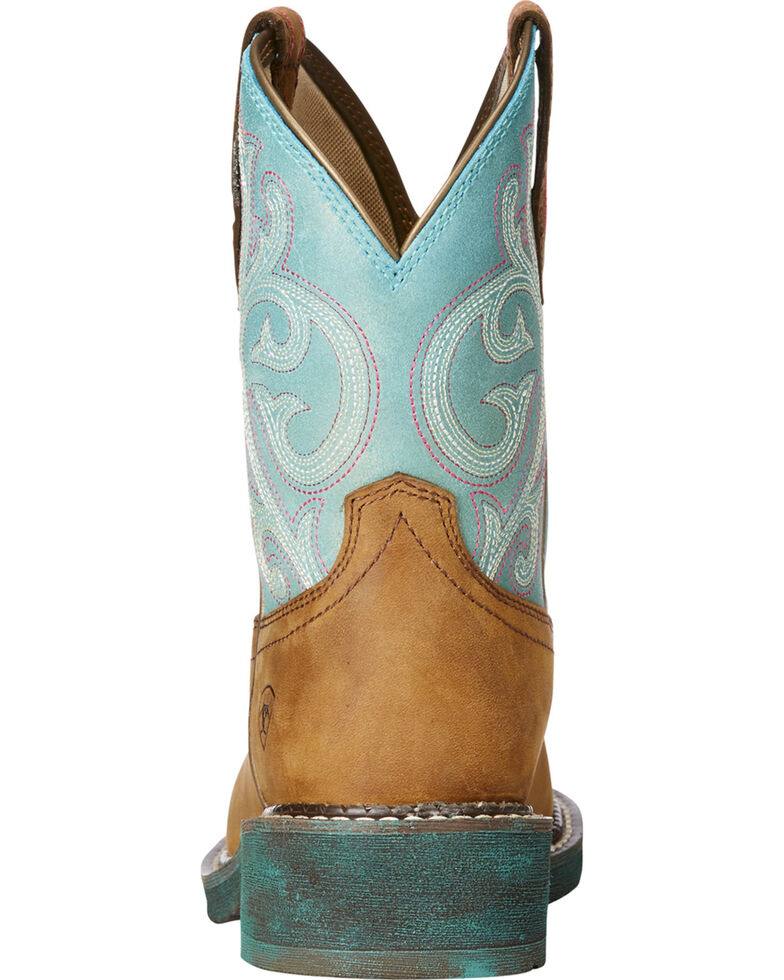 Ariat Women's Brown Fatbaby Heritage Western Boots - Round Toe , Brown, hi-res