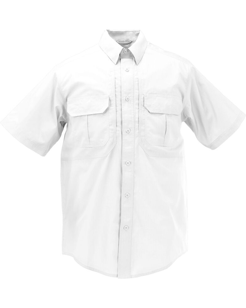 5.11 Tactical Taclite Pro Short Sleeve Shirt, White, hi-res