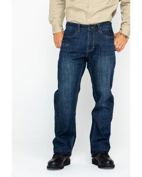 Hawx Men's Denim Stretch Work Jeans , Indigo, hi-res