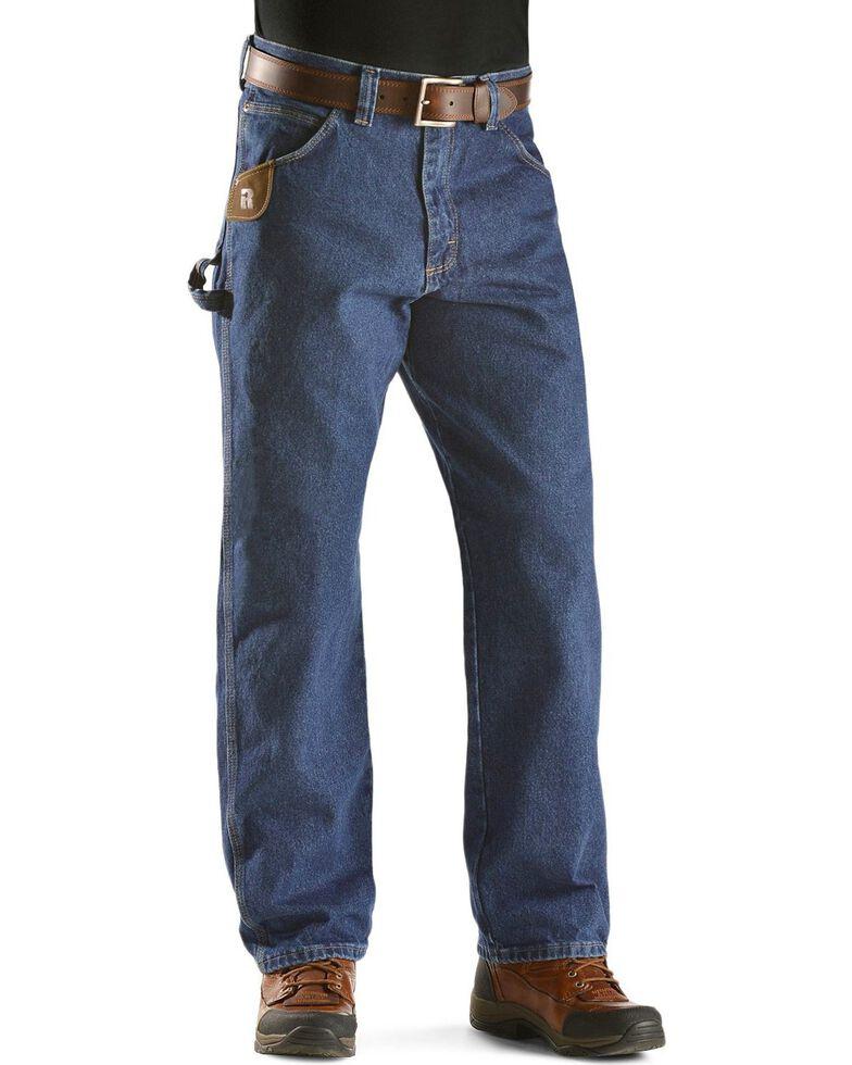 Wrangler Jeans - Riggs Workwear Relaxed Carpenter Jeans, Antique Indigo, hi-res