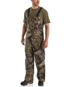 Carhartt Men's Mossy Oak Camo Quilt-Lined Duck Bib Overalls- Big , Camouflage, hi-res