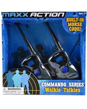 Maxx Action Commando Series Walkie Talkies, Black, hi-res
