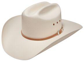 Stetson Benbrook 10X Straw Cowboy Hat, Natural, hi-res