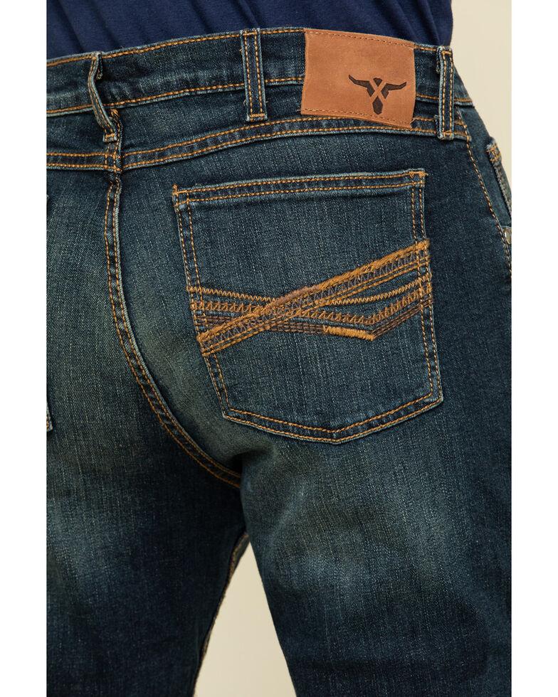 Wrangler 20X Men's No. 42 Blaine Vintage Bootcut Jeans , Blue, hi-res