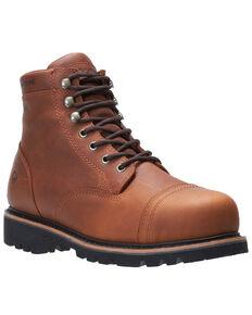 Wolverine Men's Journeyman Work Boots - Composite Toe, Brown, hi-res