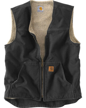 Carhartt Rugged Work Vest, Black, hi-res