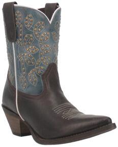 Laredo Women's Randee Western Boots - Snip Toe, Chocolate, hi-res