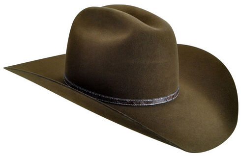 Bailey Men's Roderick 3X Premium Wool Felt Cowboy Hat, Brown, hi-res