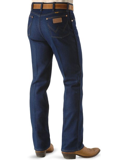 """Wrangler Jeans - 947 Regular Fit Stretch - Big 44"""" to 54"""" Waist, Indigo, hi-res"""