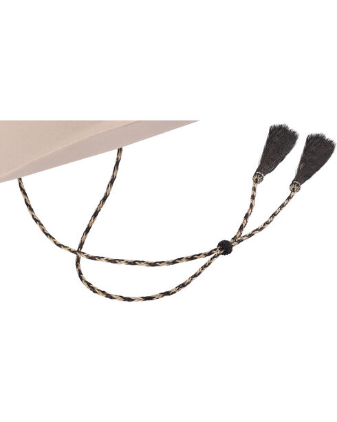Cody James Black and White Braided Stampede String, Black, hi-res