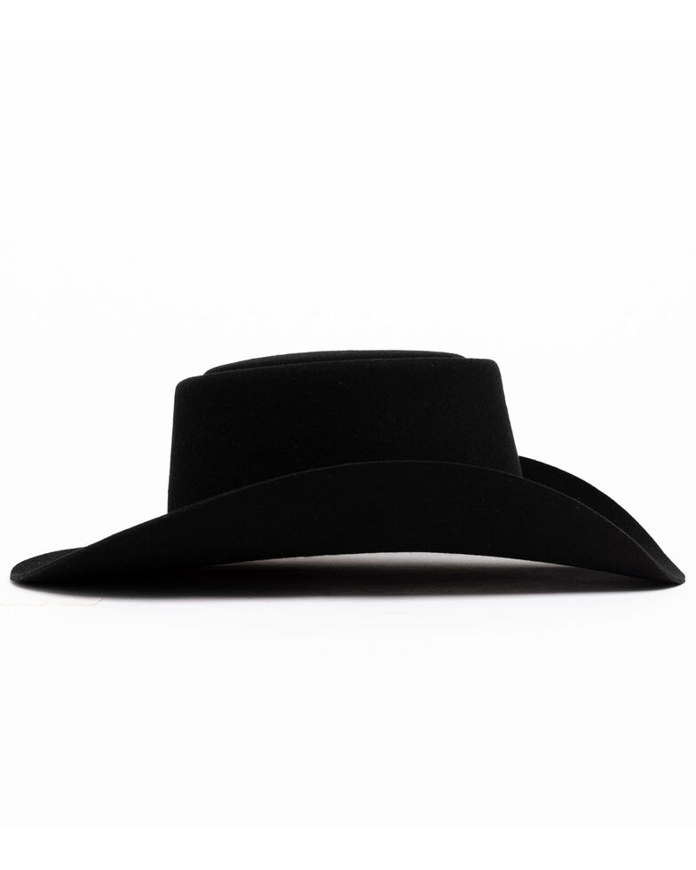 Stetson Men's Black Revenger Western Hat, Black, hi-res