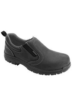 Avenger Women's Foreman Waterproof Work Shoes - Composite Toe, Black, hi-res