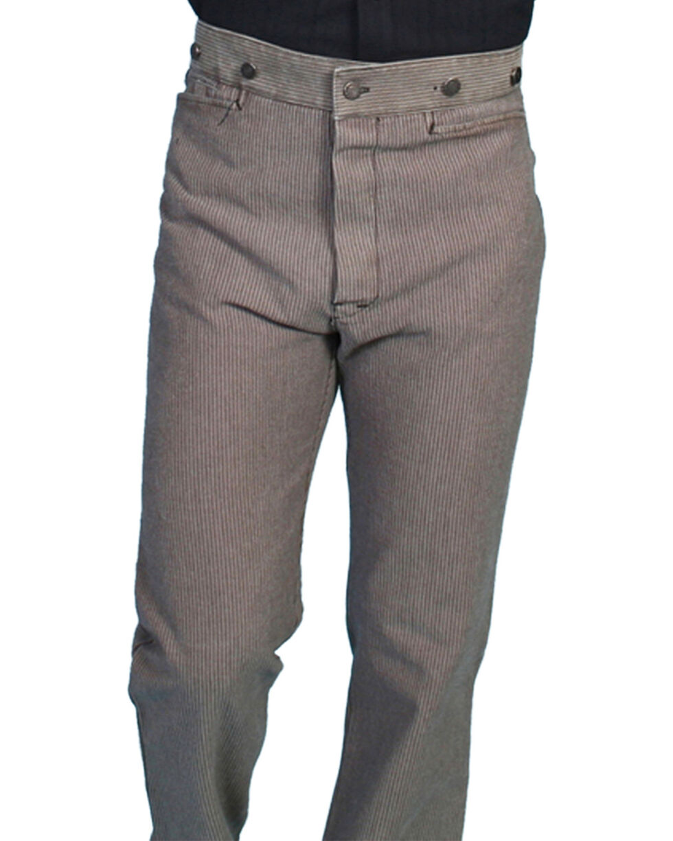 Wahmaker by Scully Raised Dobby Stripe Pants - Tall, Taupe, hi-res