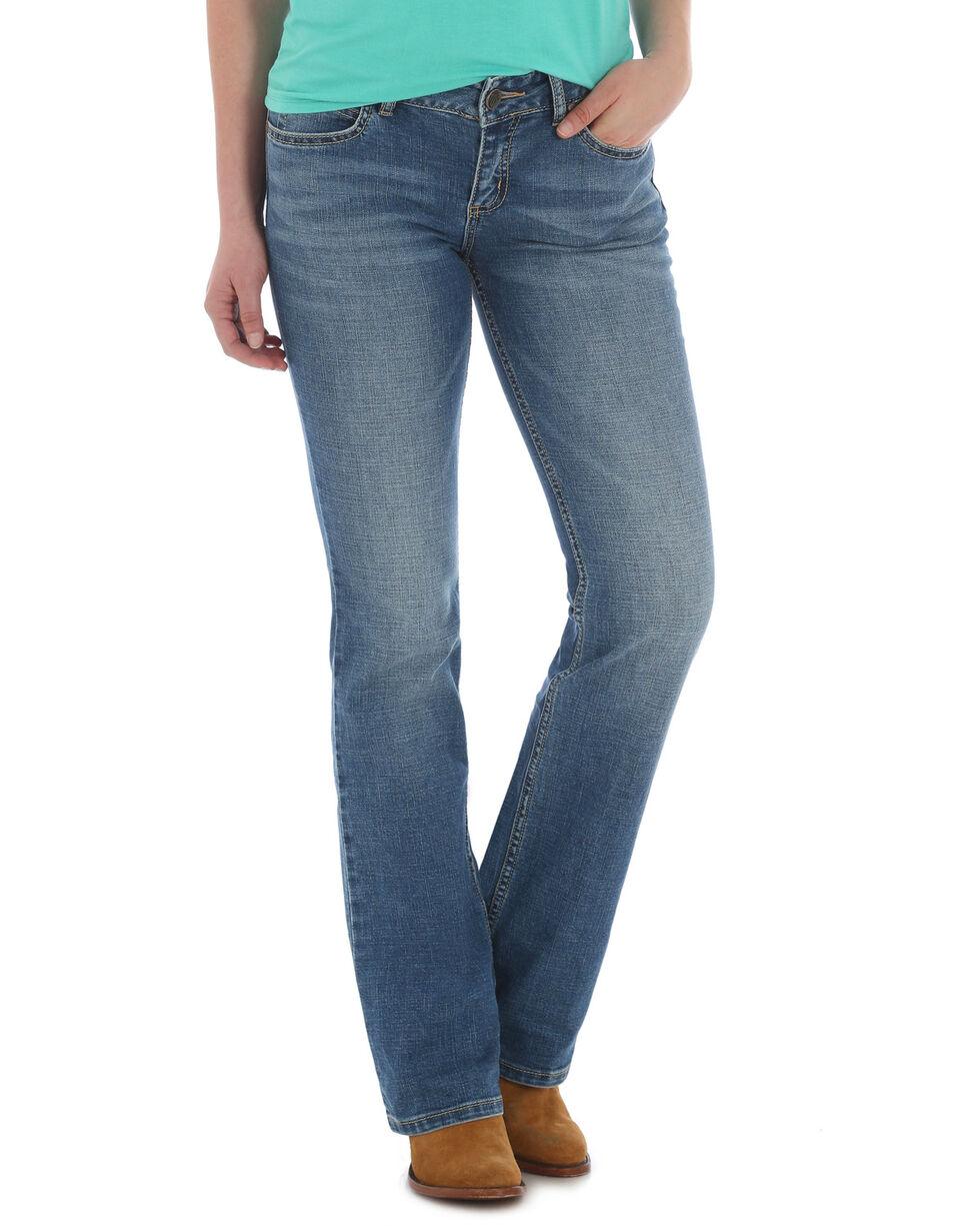Wrangler Women's Retro Mae Boot Cut Jeans , Indigo, hi-res