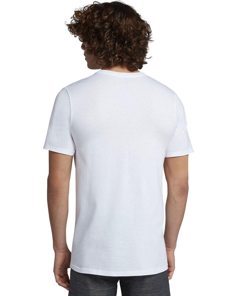 Hurley Men's Icon Slash Push Through T-Shirt, White, hi-res